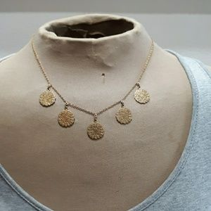 Banana Republic 5 Disc Necklace